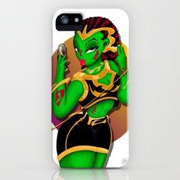 Alien B-Girl Selfie iPhone Case