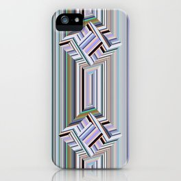 guides colored stripes iPhone Case