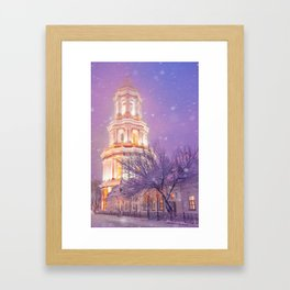 Great Belfry Story Framed Art Print