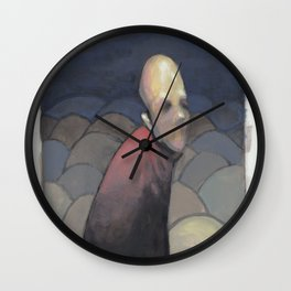 Walk Home Wall Clock