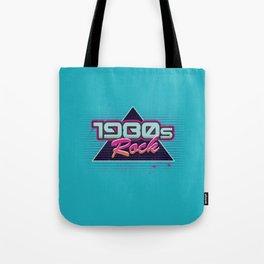 1980s Rock Tote Bag