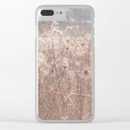 Autumn in the Prairie Clear iPhone Case