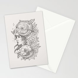 Tauntaun Girl Stationery Cards