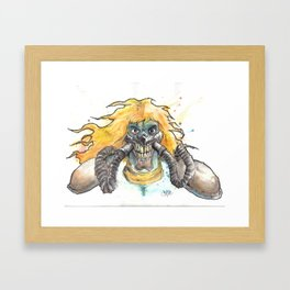 ImmortanJoe Framed Art Print