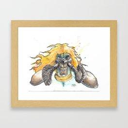 ImmortanJoe Framed Art Print