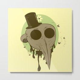 Plague Rotter Metal Print