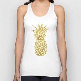 Golden Pineapple Unisex Tanktop