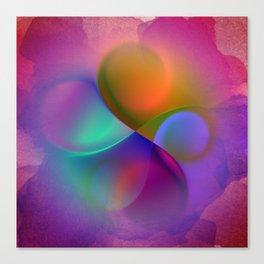 crossing colors -a- Canvas Print