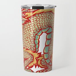 Old China Dragon Travel Mug