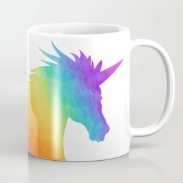 Rainbow Unicorn Silhouette Coffee Mug