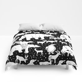Polar gathering Comforters