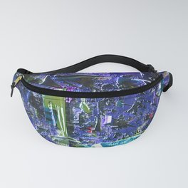 Abstract Vision IV Fanny Pack