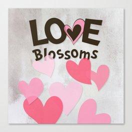 Love Blossoms Canvas Print