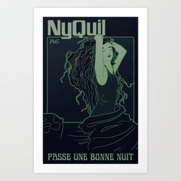 Nyquil Art Print