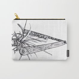 Bromeliad Barber Carry-All Pouch