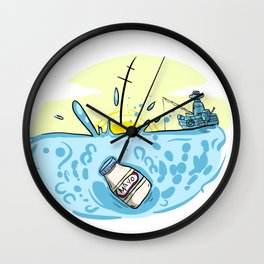 Sink of the Mayo Wall Clock
