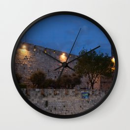 Jerusalem Old Wall Wall Clock
