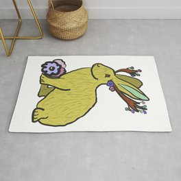 Jackalope of all Trades Rug