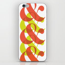 Colorful Ampersand iPhone Skin