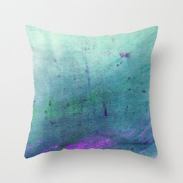 Deep Into The Ocean Throw Pillow