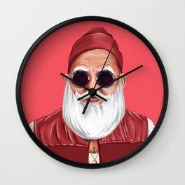 Hipstory -  Santa Claus Wall Clock