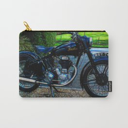 Vintage Indian Fire Arrow Motorbike - Circa 1954 Carry-All Pouch