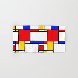 Piet Pattern Hand & Bath Towel