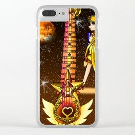 Sailor Moon Guitar #3 - Sailor Venus (Minako Aino) Clear iPhone Case