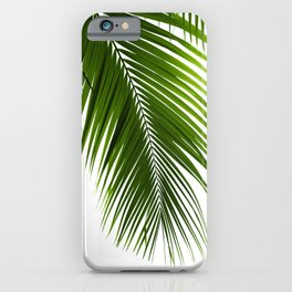 Palm Leaves Green Vibes #10 #tropical #decor #art #society6 iPhone Case