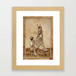 Donkey Skin Framed Art Print