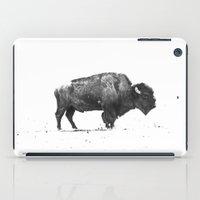 buffalo iPad Cases featuring Buffalo by KClark Photography