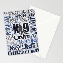 K-9 Unit  -Police Dog Unit Stationery Cards