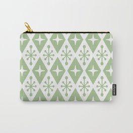 Mid Century Modern Atomic Triangle Pattern 127 Carry-All Pouch
