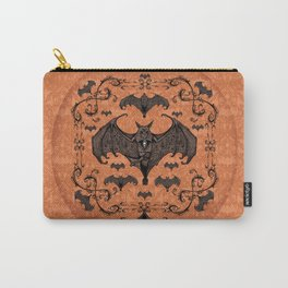 Bats and Filigree - Halloween Carry-All Pouch