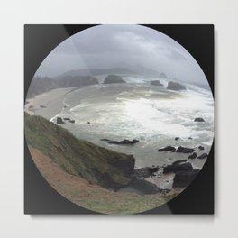 Full Circle Metal Print