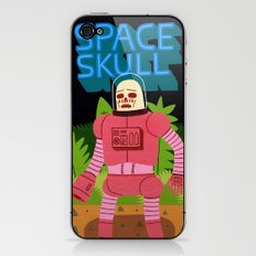 Space Skull iPhone & iPod Skin