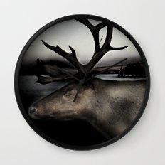 Tom Feiler Caribou Wall Clock
