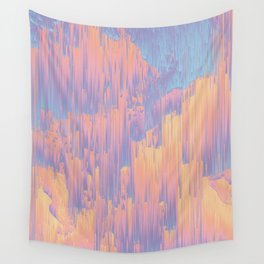 Chillhop Beats - Abstract Pixel Art Wall Tapestry