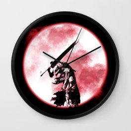 Berserker Moon Wall Clock