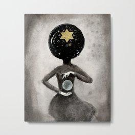Star Hostess Metal Print