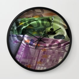 A drop in the ocean Wall Clock