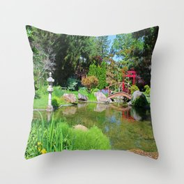 The Truth of Letting Go Throw Pillow