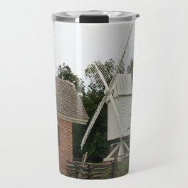 White Windmill - Colonial Williamsburg Travel Mug