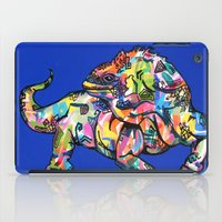 iggy iPad Cases featuring Sunset Park Iggy by The Art of Murjani Holmes