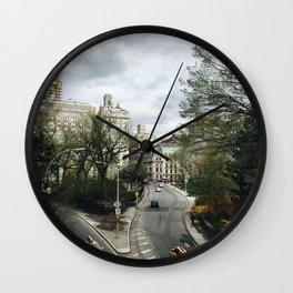 Central Park NYC View Wall Clock
