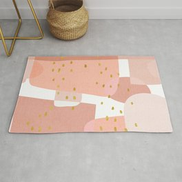 Conglomeration in Pink Rug