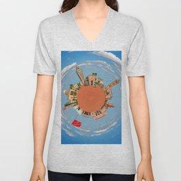 marrakech little planet Unisex V-Neck