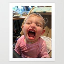 Smiling Kid Art Print