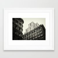 montreal Framed Art Prints featuring Montreal by Snablab
