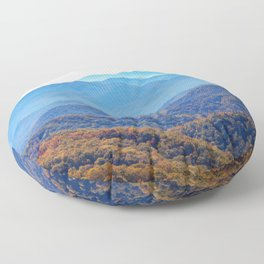 Smoky Mountain Layers Floor Pillow